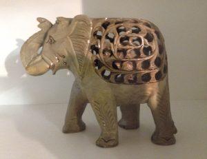 Steinelefant, Indien